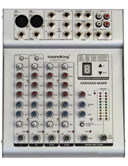 SOUNDKING SKAS602D Микшерный пульт