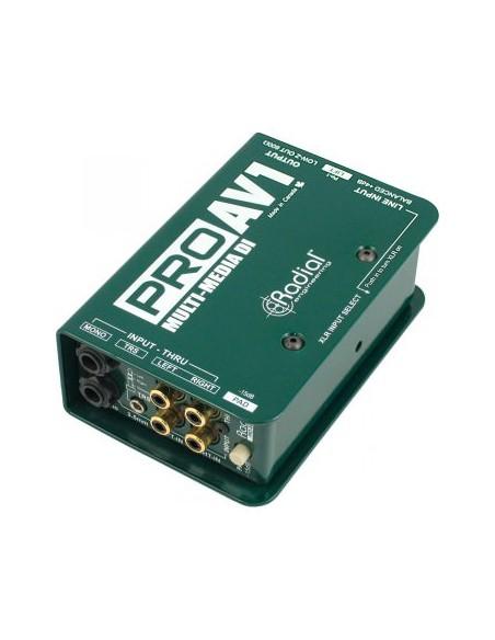 Пассивный директ-бокс Direct-Box Radial Pro AV1