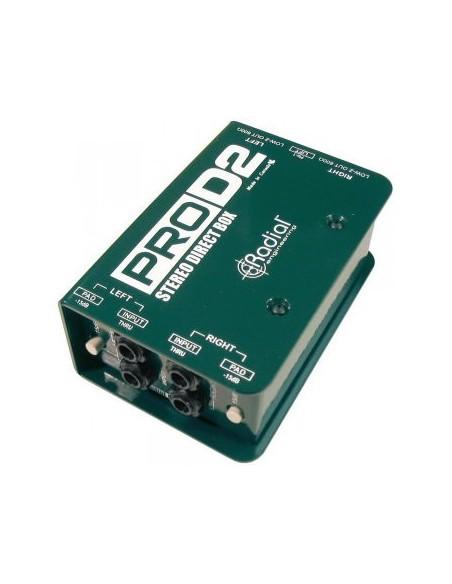 Пассивный директ-бокс Direct-Box Radial Pro D2