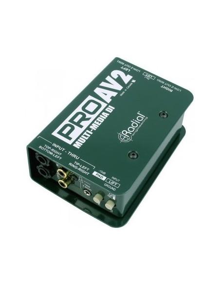 Пассивный директ-бокс Direct-Box Radial Pro AV2
