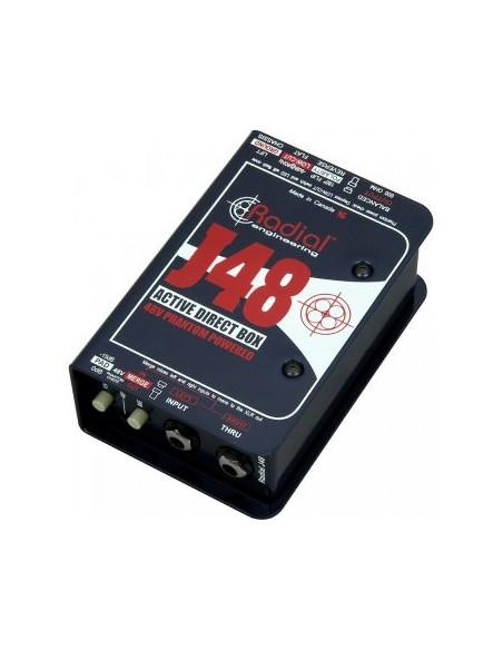 Активный директ-бокс Direct-Box Radial J48