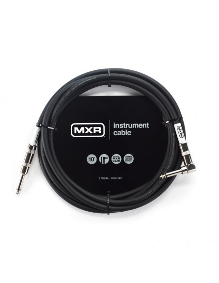 Кабель DUNLOP DCIS10R MXR STANDARD INSTRUMENT CABLE 10ft (Straight/Right)