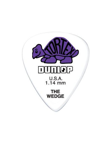 Медиатор DUNLOP 424P1.14 TORTEX WEDGE PLAYER'S PACK 1.14