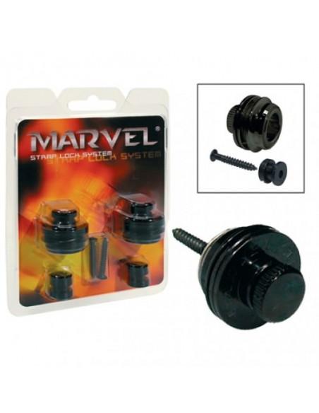 Стреплоки для ремней PAXPHIL MVS501 (BK)