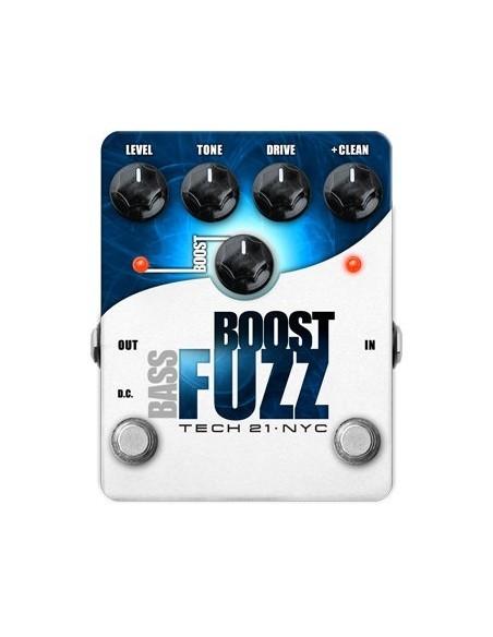 Гитарный эффект TECH21 BASS BOOST FUZZ
