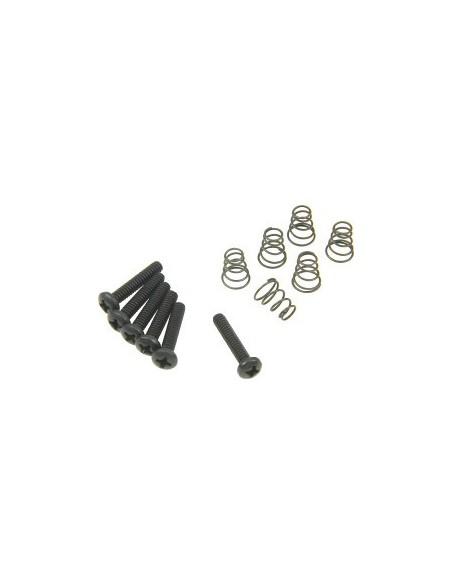 Гитарная механика DIMARZIO FH1310BK Single-coil Mounting Hardware Kit (Black)