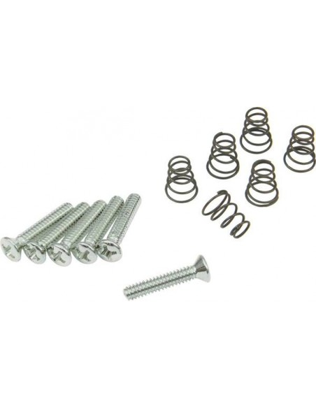 Гитарная механика DIMARZIO FH1311 Vintage Style Single-coil Mounting Hardware Kit (Chrome)