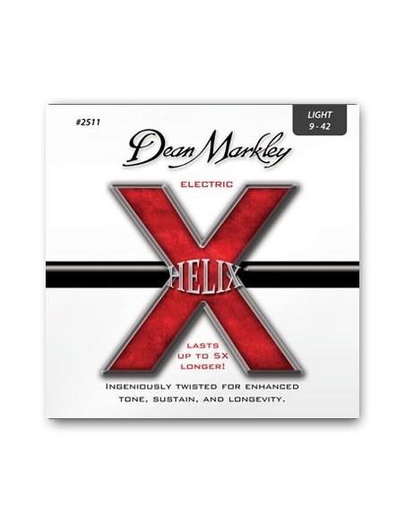 Струны для гитар DEAN MARKLEY 2511 HELIX ELECTRIC LT (09-42)
