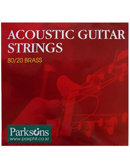 Струны для гитар PARKSONS S1252 ACOUSTIC L (12-52)