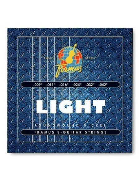 Струны для гитар FRAMUS 45200 BLUE LABEL LIGHT (09-42)