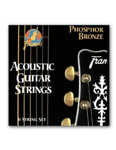 Струны для гитар FRAMUS 47200 PHOSPHOR BRONZE LIGHT (11-47)