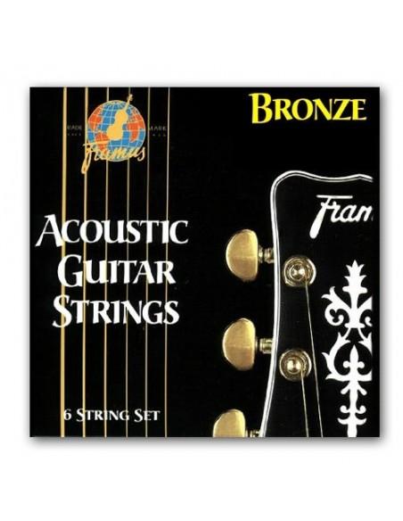 Струны для гитар FRAMUS 48210 BRONZE EXTRA LIGHT (10-46)