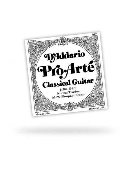 Струны для гитар D`ADDARIO J4704 PRO ARTE NYLON D BRONZE WOUND