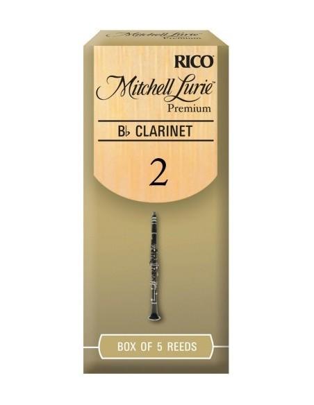 Трости для духовых RICO Mitchell Lurie Premium - Bb Clarinet 2.0