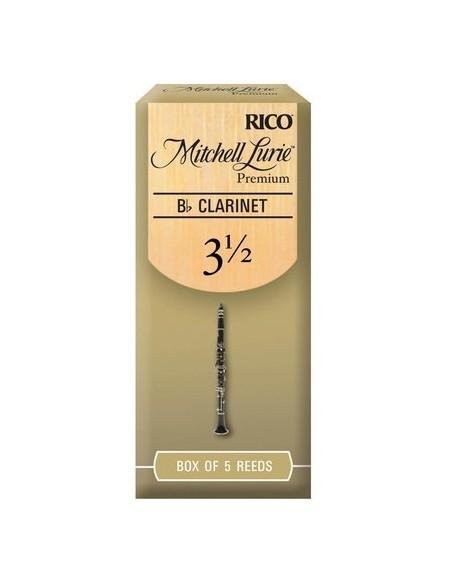 Трости для духовых RICO Mitchell Lurie Premium - Bb Clarinet 3.5