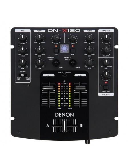 Denon DJ DN-X120 DJ скрэтч-микшер
