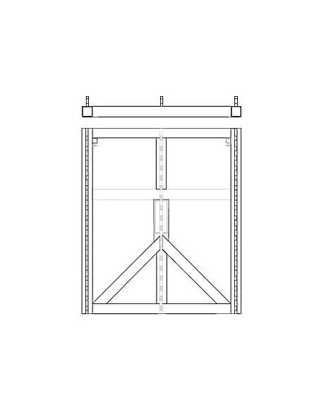 QSC WL Large Grid Стальная монтажная рама