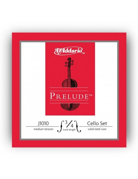 Струны для смычковых D`ADDARIO J1010 3/4M Prelude 3/4M
