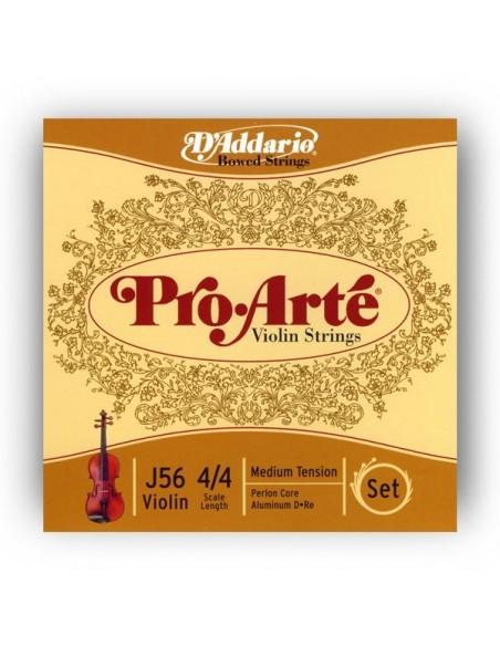 Струны для смычковых D`ADDARIO J56 4/4M Pro Arte 4/4M
