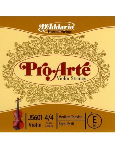 Струны для смычковых D`ADDARIO J5601 4/4M Pro Arte E 4/4M