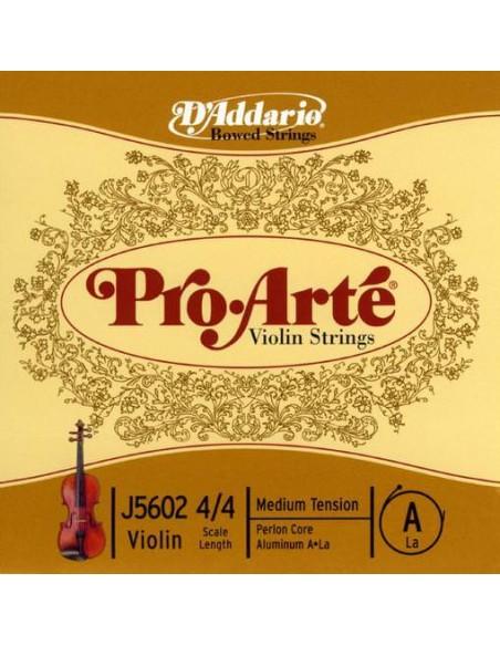 Струны для смычковых D`ADDARIO J5602 4/4M Pro Arte A 4/4M