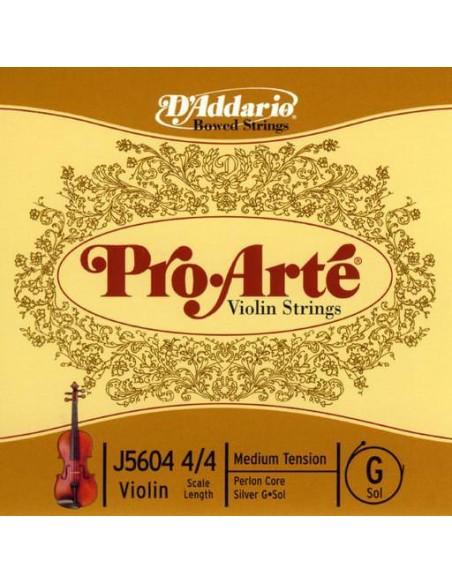 Струны для смычковых D`ADDARIO J5604 4/4M Pro Arte G 4/4M