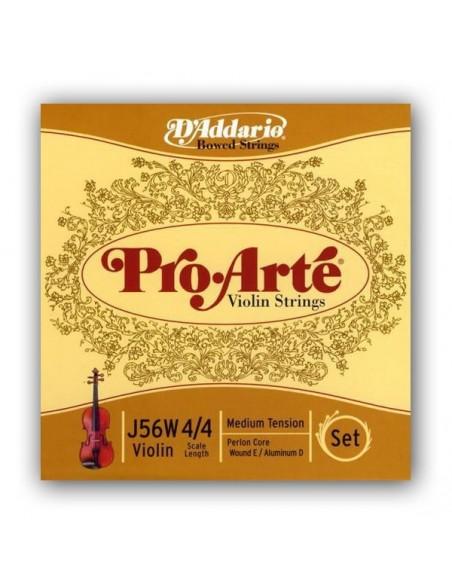 Струны для смычковых D`ADDARIO J56W 4/4M Pro Arte W 4/4M
