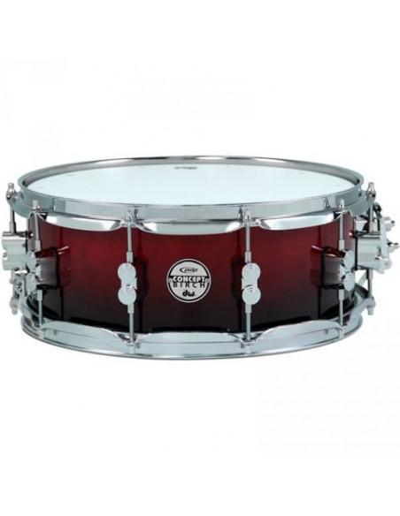 "Малый барабан PDP PDCM5514 TC CONCEPT SERIES MAPLE 14""x5.5"" (Trans Cherry)"