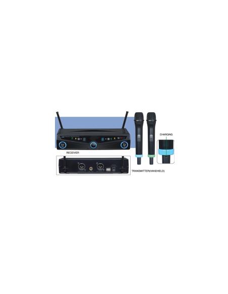 Радио микрофонная система BIG 2064 - 2 ручных