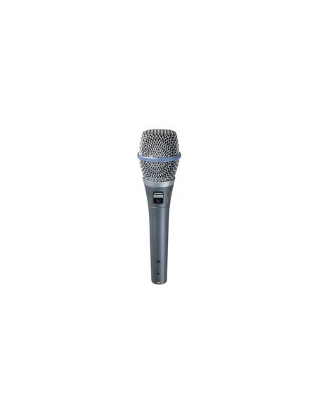 Шнуровой кардиоидный вокальный микрофон BIG BETA87A SHURE