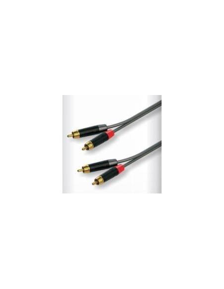 Готовый кабель Roxtone GPTC160L3, 2x2x0.22 кв.мм, диаметр 5x10 мм, 3 м