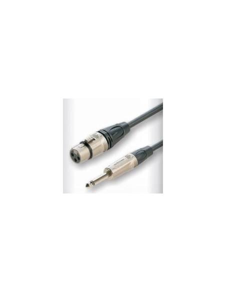 Готовый микрофонный кабель Roxtone DMXJ210L5, 2x0.22 кв.мм, вн.диаметр 6 мм, 5 м
