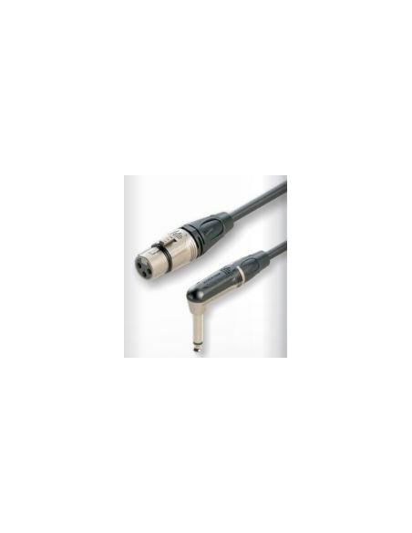 Готовый микрофонный кабель Roxtone DMXJ230L5, 2x0.22 кв.мм, вн.диаметр 6 мм, 5 м