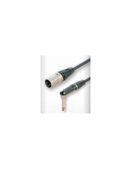 Готовый микрофонный кабель Roxtone DMXJ270L3, 2x0.22 кв.мм,вн.диаметр 6 мм, 3 м