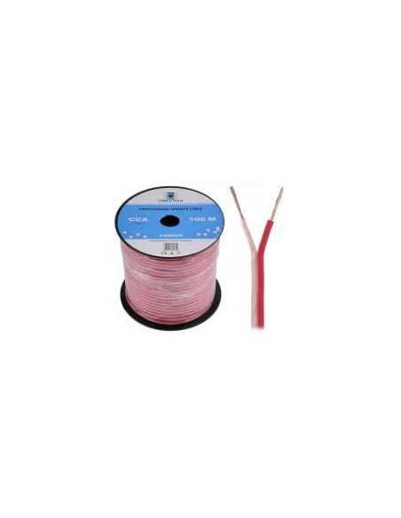 Кабель акустический Cabletech KAB0405 extra flexible, 2 x 0,5 мм, 100 м