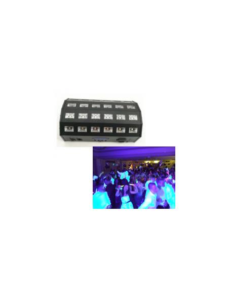 Ультрафиолетовый LED прожектор BIG LEDUV DMX24*3W