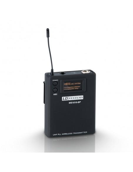 Беспроводная микрофонная система LD Systems Sweet SixTeen BP B6