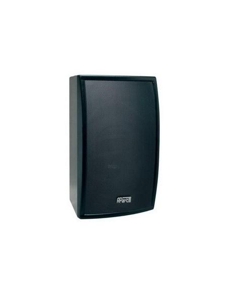 Apart MASK8-BL Двухполосный, настенный громкоговоритель в деревянном корпусе. 300 Вт/8 Ом. Цвет: черный