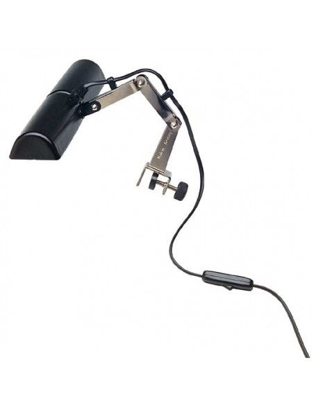 Konig & Meyer 12260-000-55 Сдвоенный светильник для пюпитра, черный
