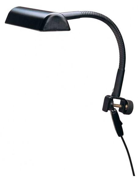 Konig & Meyer 12253-000-55 Светильник для пюпитра, черный