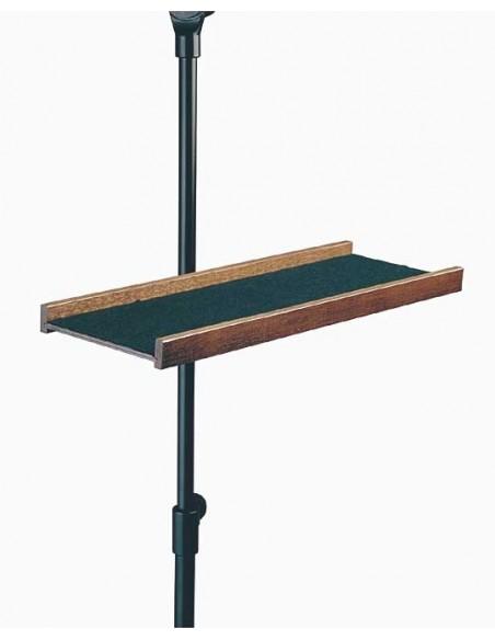 Konig & Meyer 12211-000-01 Лоток для инструментов и нот, ореховое дерево