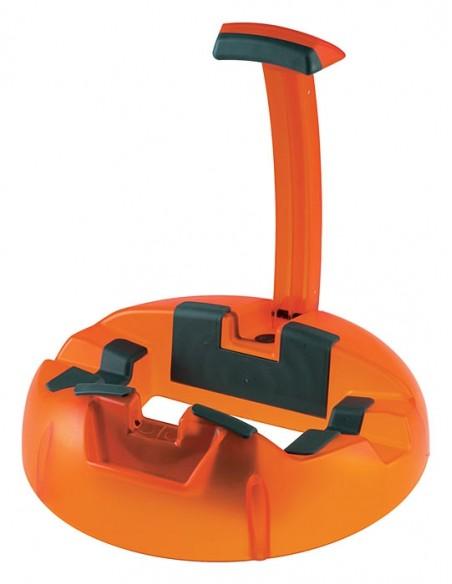 Konig & Meyer 17530-000-71 Пластиковая подставка для гитары BIG FOOT, оранжевая