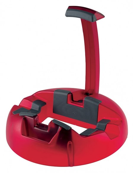 Konig & Meyer 17530-000-59 Пластиковая подставка для гитары BIG FOOT, красная