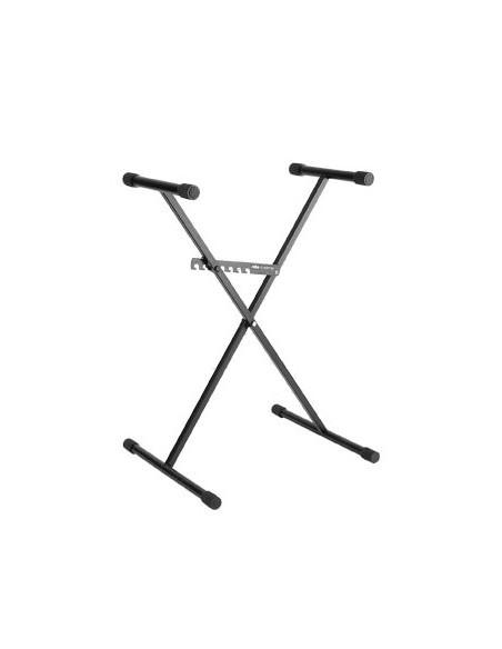 Konig & Meyer 37960 Ruka-Systeme- Х-образная стальная подставка для клавишных, черная, комплект 6 шт-