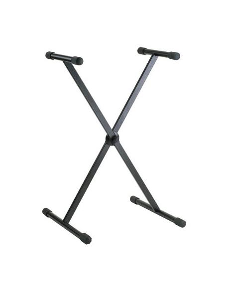 Konig & Meyer 18910-000-55 Раздвижная Х-образная стойка для клавишных, черная
