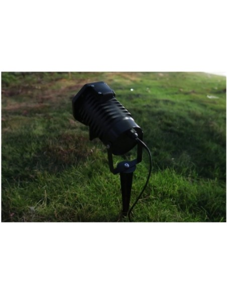 Лазер уличный водонепроницаемый 11P014 Green moving firefly garden laser