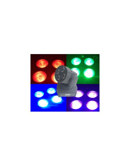 Светодиодная голова WASH BIG MINI MI 4*10W(4in1)