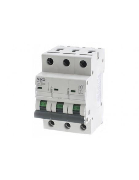 Трёхполюсный автоматический выключатель VIKO, 10А