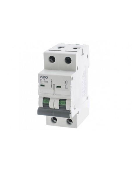 Двухполюсный автоматический выключатель VIKO, 40А