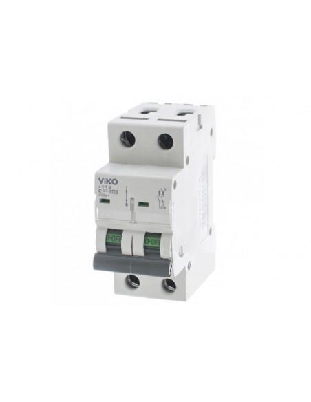 Двухполюсный автоматический выключатель VIKO, 25А